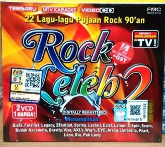 VCD Rock Leleh 2 - 22 lagu-lagu Pujaan Rock 90'an