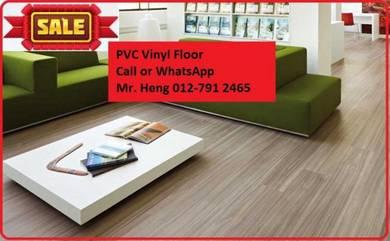 Wood Look PVC 3MM Vinyl Floor E4T2D