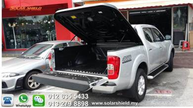 Nissan Navara Aeroklas Deck Cover 45 degree