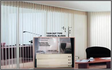 Vertical Blinds-Light Filtering VC-3205 SERIES