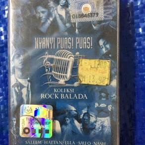 119 Kaset koleksi rock balada cassette not ep lp
