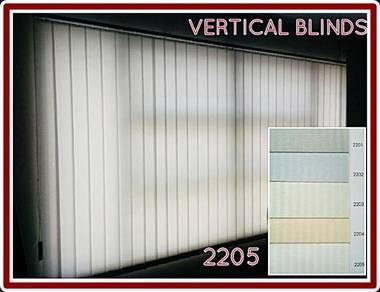 Vertical Blinds Code- KJR2204-BEIGE-Dim out Series