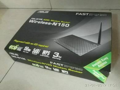 ASUS Wireless-N150 ADSL Modem Router [WiFi + LAN]