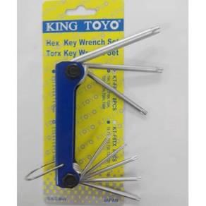 Kingtoyo torx key set 8pcs