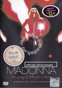 DVD MADONNA I'm Going To Tell You A Secret