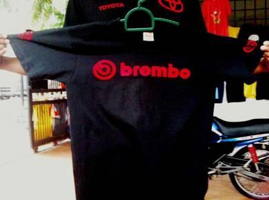 T shirt design BREMBO