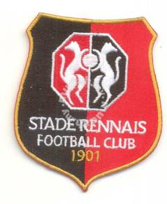 French Ligue Stade Rennais France Football Patch