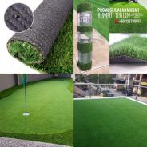 Pakej install rumput tiruan / artificial grass 04
