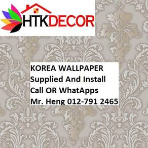 Wall paper with Installation for your HOME 0435W