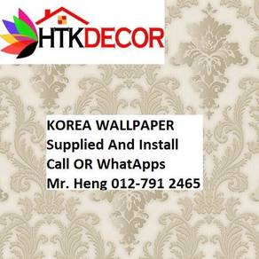 Simple Design With Wall paper with Install 942PW