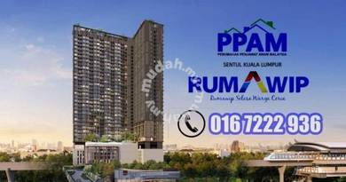 [FULL LOAN] RUMAWIP SENTUL- 3R 2B | Low Density | 10 Mins to KLCC