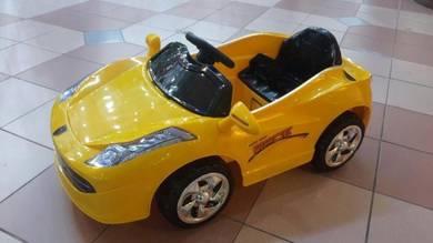 Ferrari kuning baby Car Kereta Kanak-kanak OFFERR