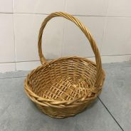 Medium small rattan basket
