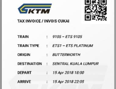 ETS BW to KL