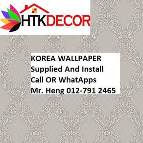 Classic Wall paper with installation 50A2W