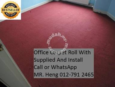 Office Carpet Roll with Expert Installation 80Q