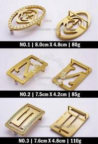 Solid Brass Man Buckle IV | Buckle Tembaga