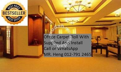 Simple Plain Carpet Roll With Install 75P