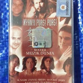 119 Kaset koleksi muzik dunia cassette not ep lp