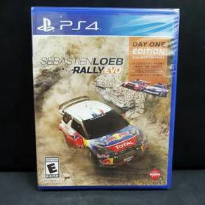 Sebastian Loeb Rally Evo PS4 game