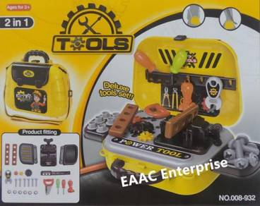 2 in 1 Building Engineering Tools Role Pretend Pla