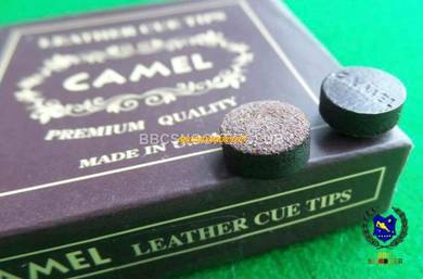 CAMEL Leather Snooker Cue Tips