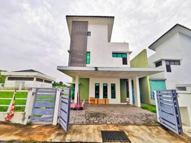 LARGE CORNER Semi Detach House Taman D Ramal Sungai Ramal Dalam Kajang