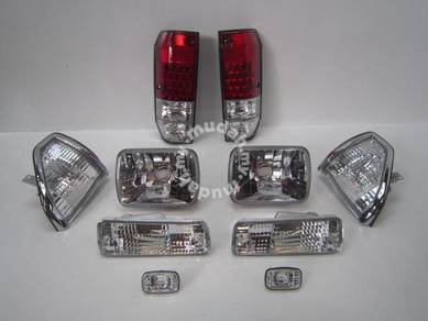 Toyota land cruiser LC2 head lamp Tail light 4wd