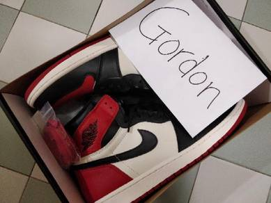 For Sale Jordan 1 Bred Toes Size US13 UK12