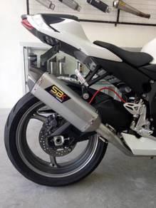 Ekzos Suzuki GSXR 600 L1 L2 L3 SBK Oval Exhaust