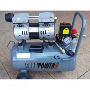 EuroPower 550W 30Liter Silent Oil-Free Air Compres