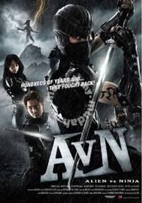 DVD JAPAN MOVIE Alien vs Ninja