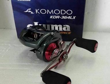 OKUMA KOMODO KDR 364LX Fishing Reel Comodo Jigging