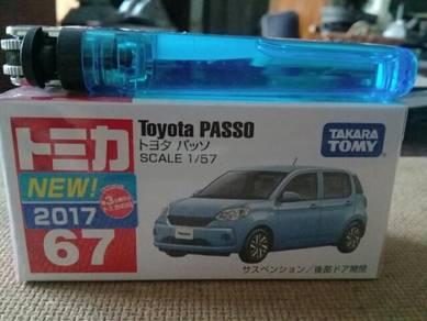 119 Tomica myvi passo not hotwheels