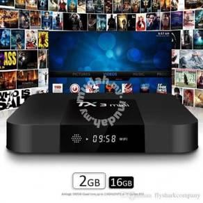 Tx3 solo 2g/16g Android dual box tv stable