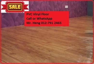 PVC Vinyl Floor In Excellent Install DE4TG