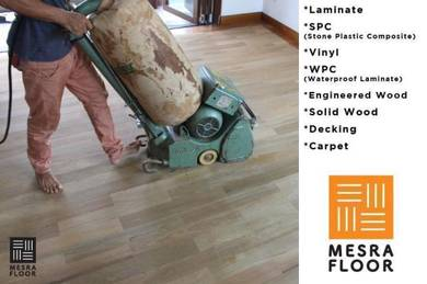 Timber Flooring / Laminate / Vinyl / WPC/ SPC -106
