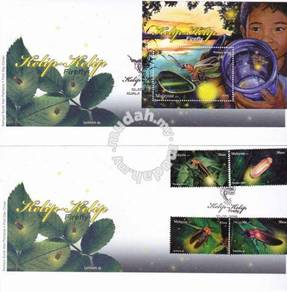 First Day Cover Firefly Malaysia 2010