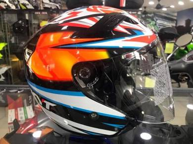 KYT Helmet Venom Open Face ~ Alex Basani Edition