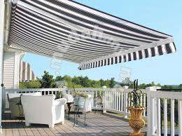 Canopy electric Awning sun shelter folding