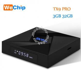 Tx9 pro 3g/32g android Bluetooth dualband tv box