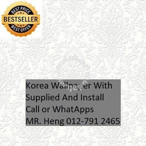Classic Wall paper with installation 834L