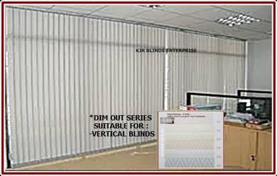 Vertical Blinds Standard-AL40-KHAKI- ALBBA series