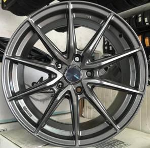 Sport rim New Enkei Draco SQ31 17 Civic CRZ Preve