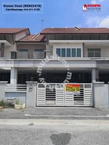 Double Storey Terrace House FOR SALE at Pengkalan Tiara Lake