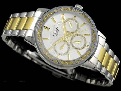 Watch - Casio Ladies LTP2087SG - ORIGINAL