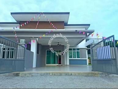 Single Storey Terrace, Freehold 1k booking Bukit Rambai, Bertam,Sg udg