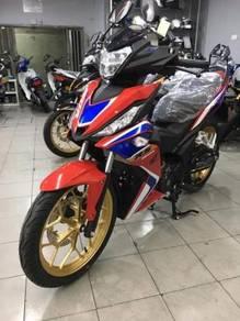 Honda rs150 (ic dan slip gaji 1 bulan) rm499 0tr