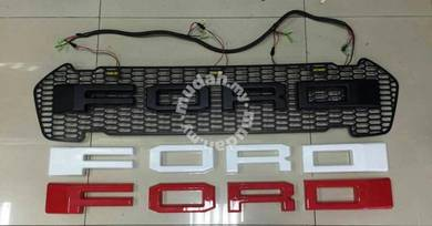 Ford ranger front grill grille with led light