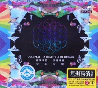 CD COLDPLAY A Head Full of Dreams + Greatest Hits